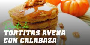 Tortitas de Avena con Calabaza