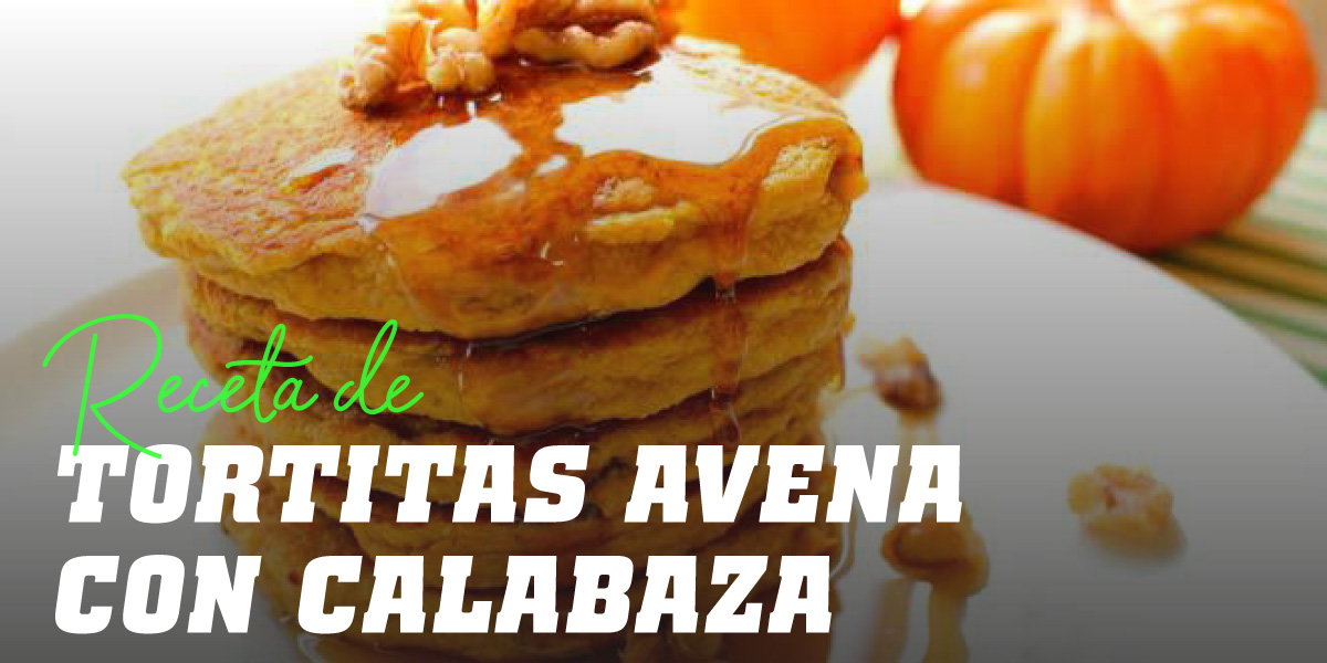 Tortitas de Avena y Calabaza