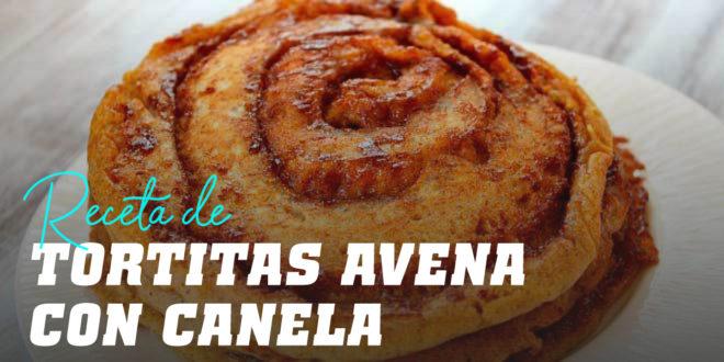 Tortitas de Avena con Canela