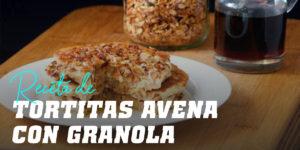Tortitas de Avena con Granola