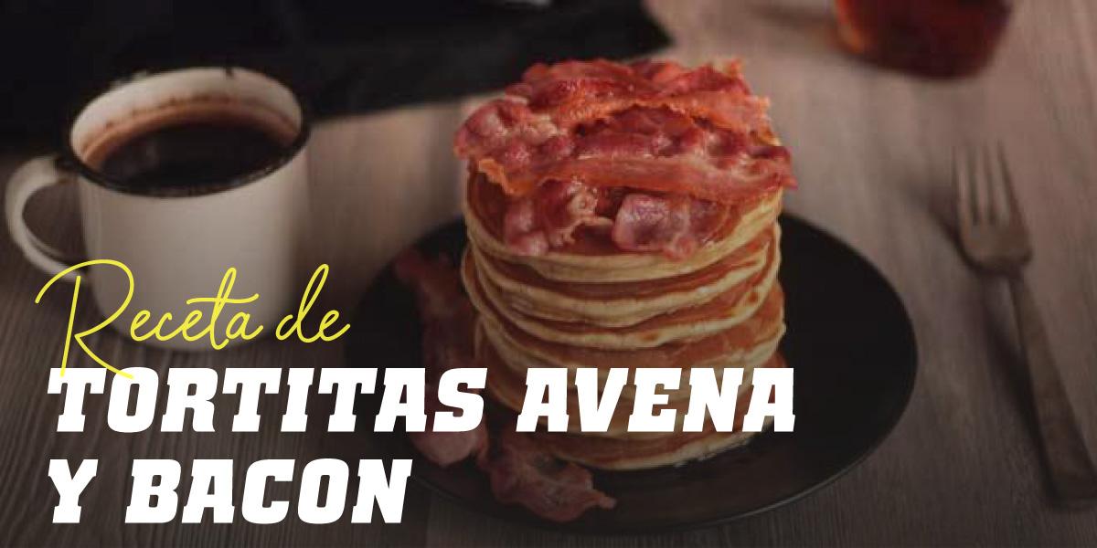 Tortitas de Avena con Bacon