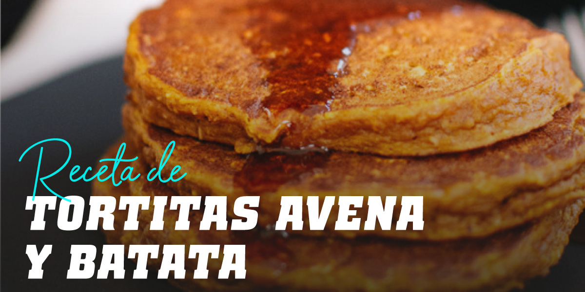 Tortitas de Avena y Batata
