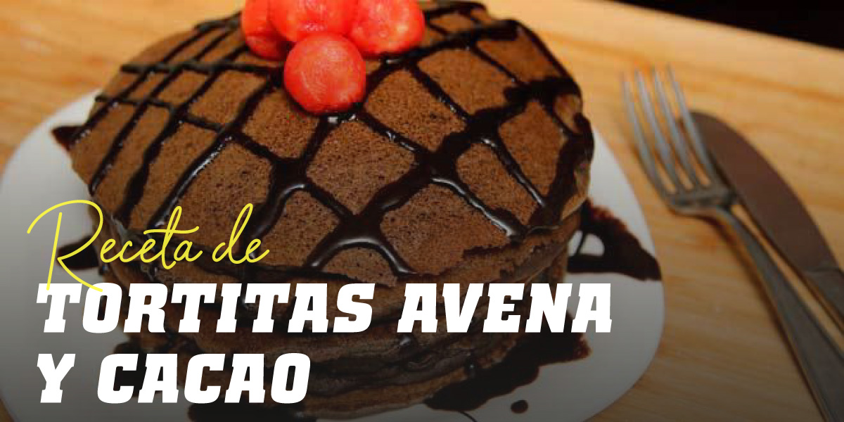 Tortitas de Avena con Cacao