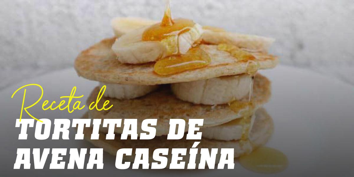 Tortitas de Avena y Claras con Caseína
