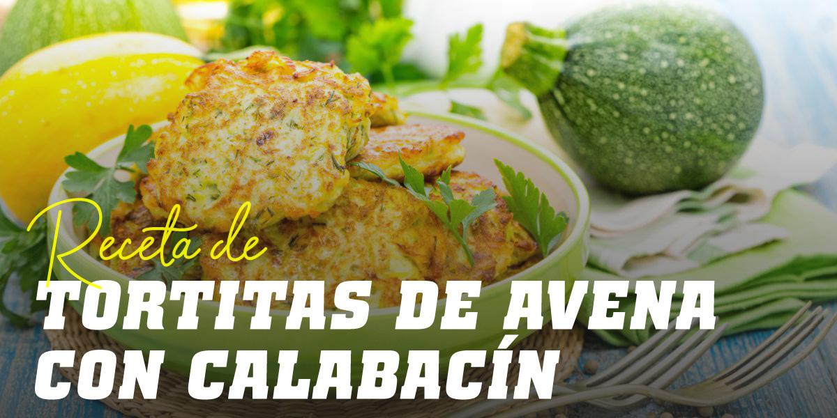 Tortitas de Avena y Claras con Calabacín