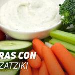 Verduras con Salsa Tzatziki