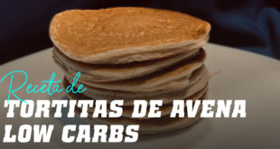 Tortitas de Avena Low Carbs