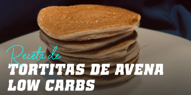 Tortitas de Avena Low Carb
