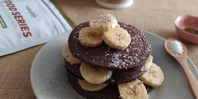 Cómo hacer Tortitas de Avena y Claras con Coco y Cacao