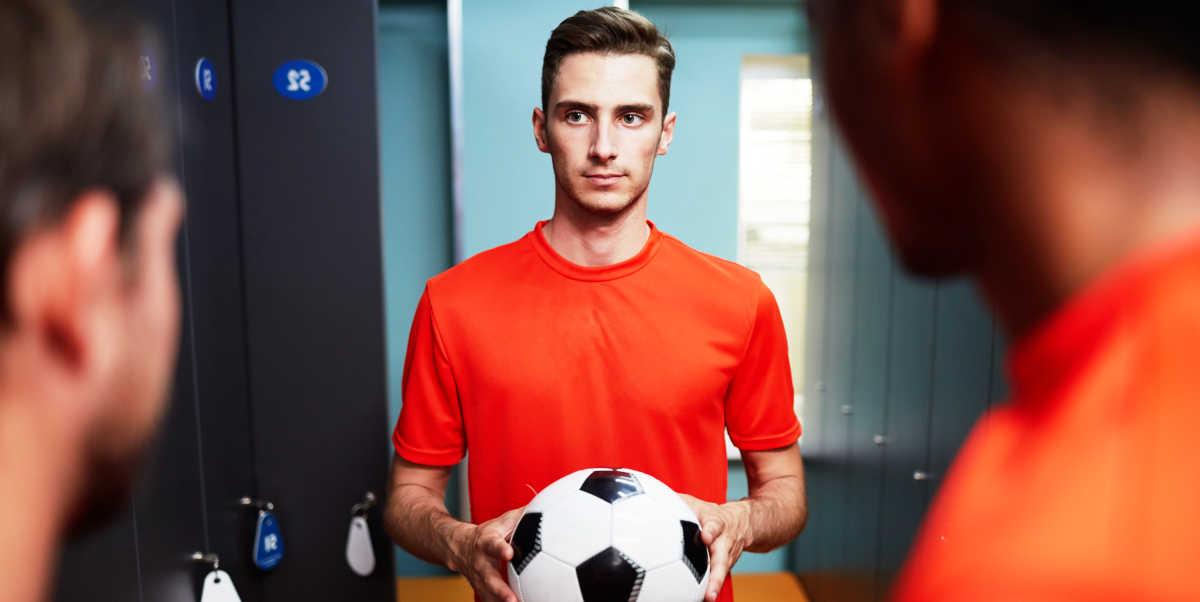 ¿Qué toman los futbolistas antes de un partido?