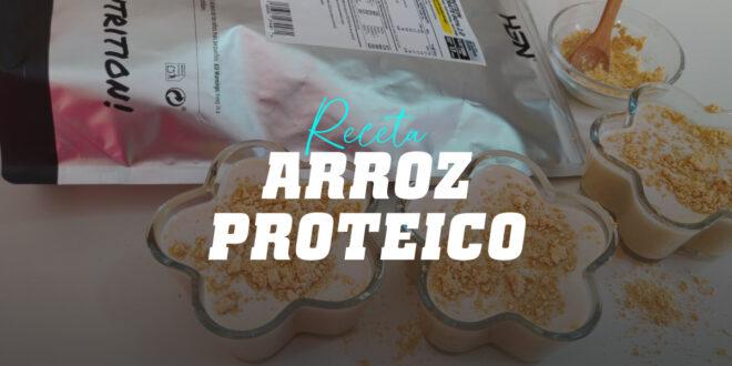 Arroz Proteico con Mantequilla de Cacahuete