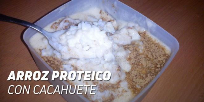 Arroz Proteico con Cacahuete