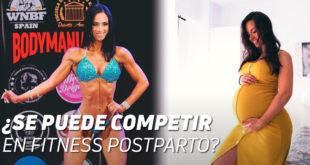 Competir en Fitness postparto
