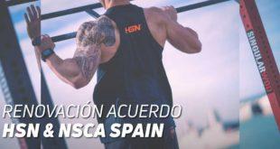 Acuerdo HSN y NSCA Spain