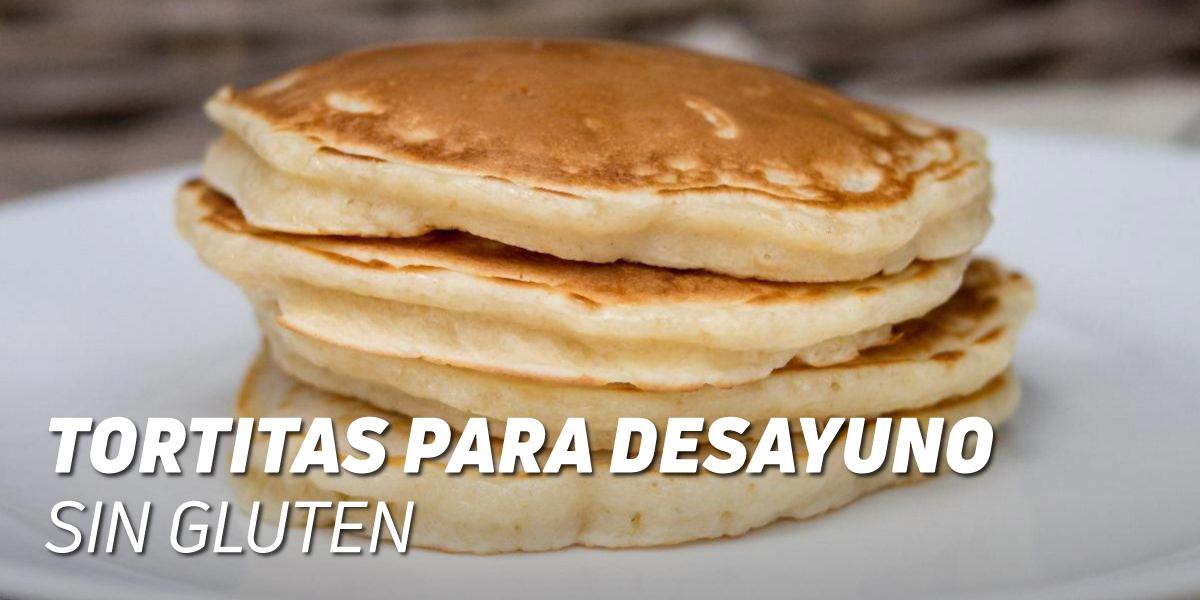 Tortitas para Desayuno Sin Gluten