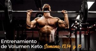 Volumen Keto 13, 14 y 15