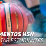 Suplementos HSN en el vestuario de Movistar Estudiantes