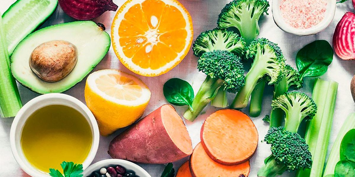 Frutas y Verduras para la piel
