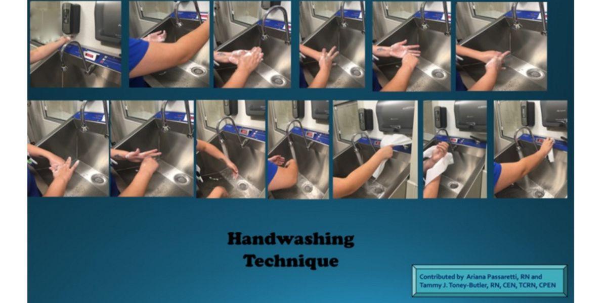 Técnica de lavado de manos