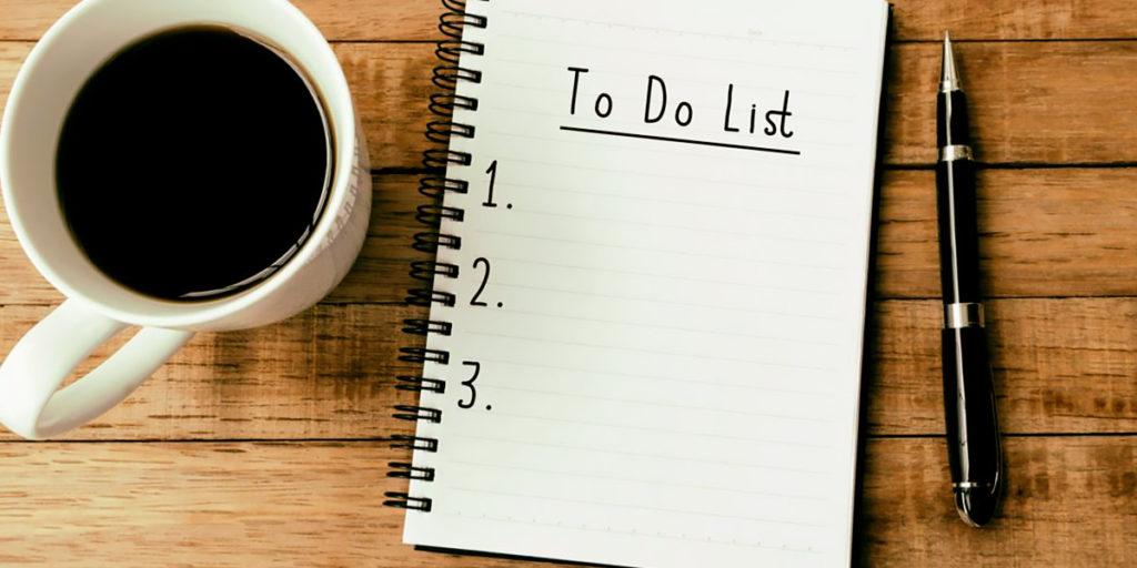 Horario y lista de tareas