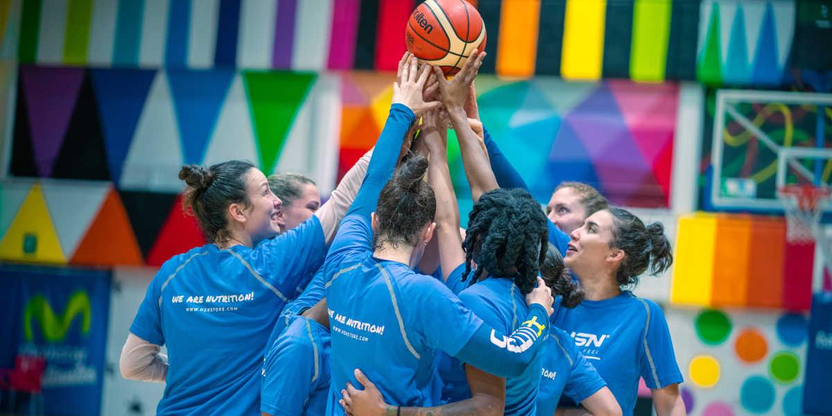 Necesidades nutricionales jugadoras baloncesto Movistar Estudiantes