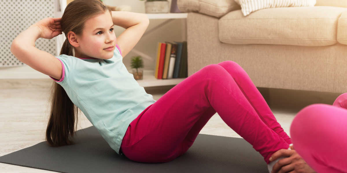 ¿Cómo deben practicar deporte los niños en cuarentena?