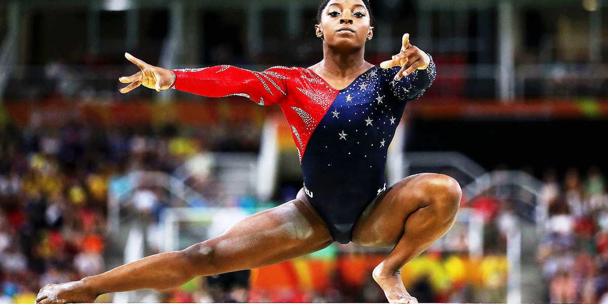 Simone Biles, mejor gimnasta del mundo