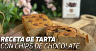 Tarta con Chips de Chocolate
