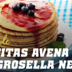 Tortitas de Avena con Grosella Negra