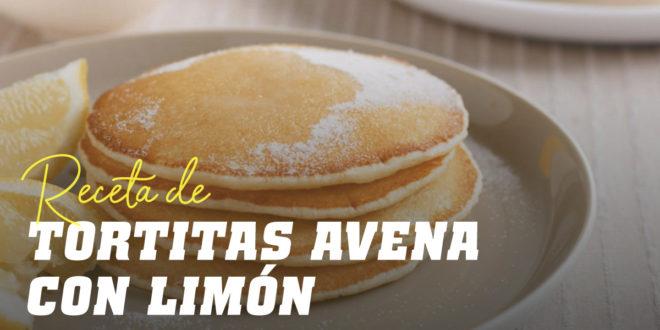 Tortitas de Avena con Limón