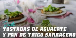 Tostadas de Aguacate