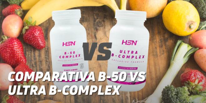 B-50 Complex VS Ultra B-Complex de HSN