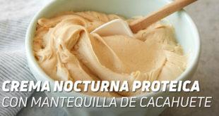 crema proteica cacahuete