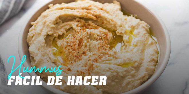 Hummus Fácil de Hacer