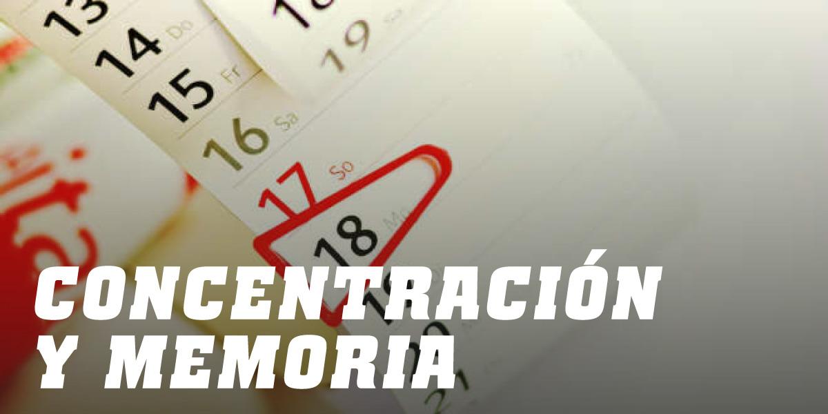 Concentración y Memoria HSN