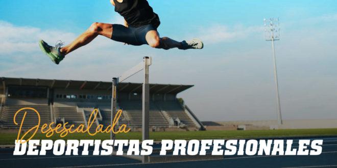 ¿Cómo entrena un Deportista Profesional en la Desescalada?