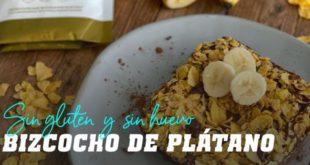 Bizcocho de Plátano Sin Gluten