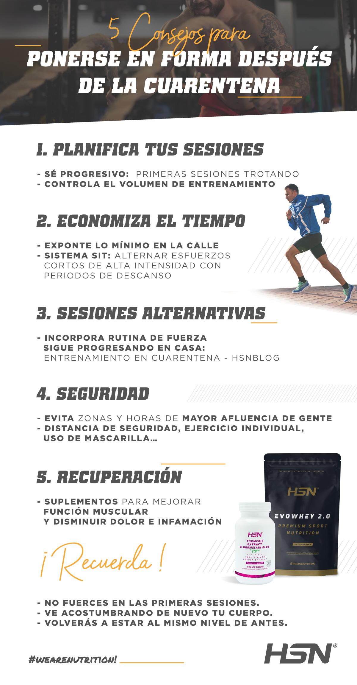 5 Consejos para ponerte en forma