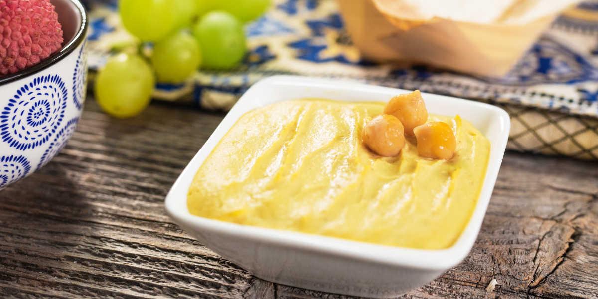 Hummus de Garbanzo vitaminas y minerales