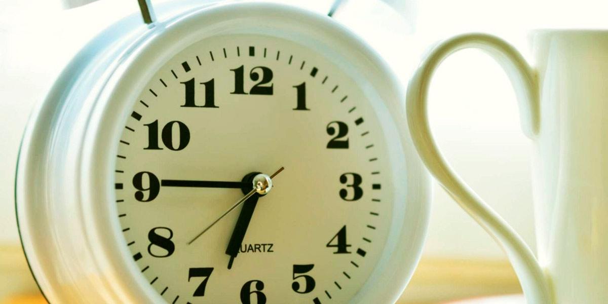 levantarse a la misma hora