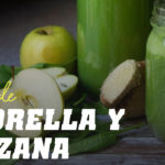 Batido de Chlorella con Manzana