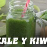 Batido de Kale y Kiwi