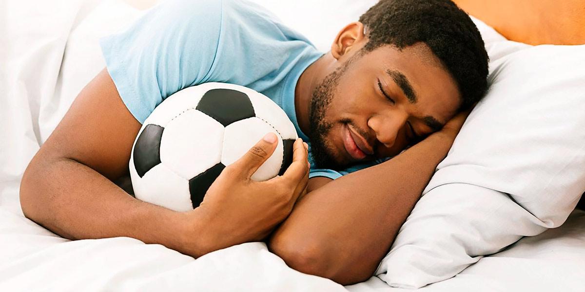 descanso en el fútbol