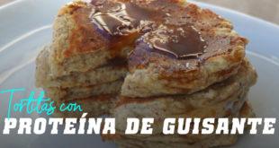 Tortitas de Avena con Proteína de Guisante