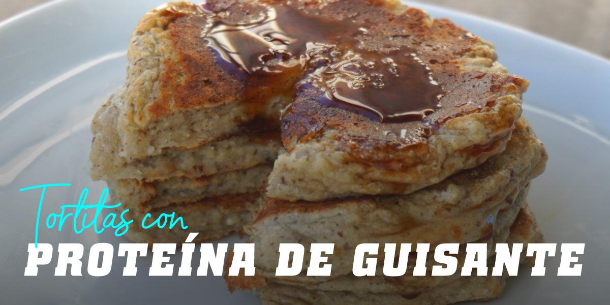 Tortitas de Avena y Claras con Proteína de Guisante