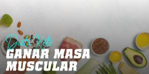 Cómo ganar masa muscular con la dieta keto