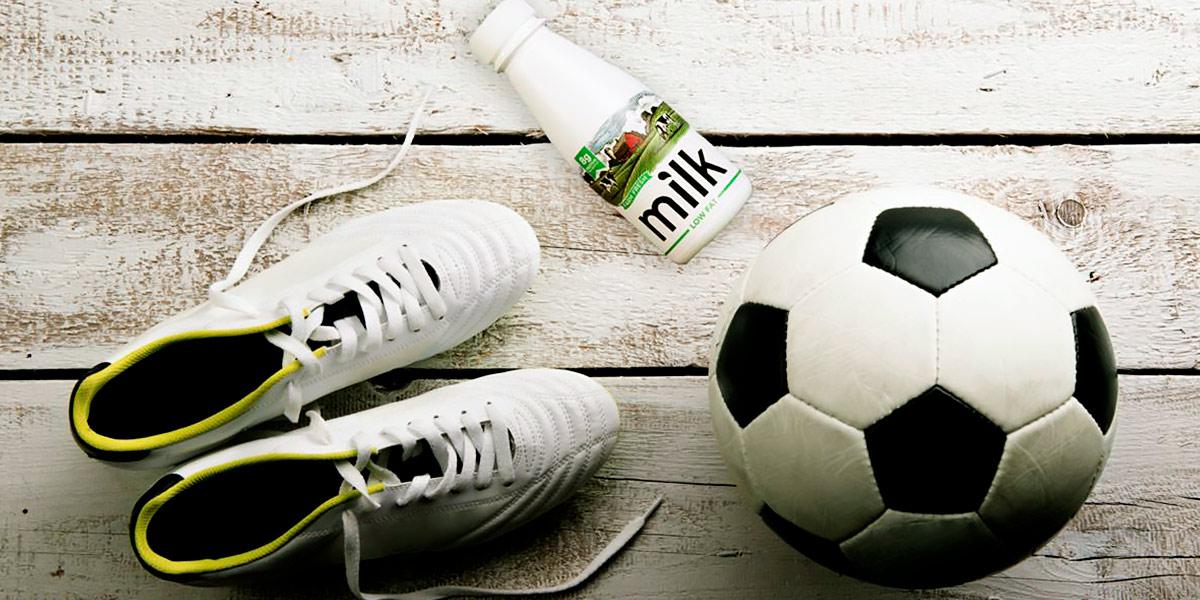 Hidratación en el fútbol