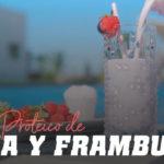 Batido Proteico de Fresa y Frambuesa
