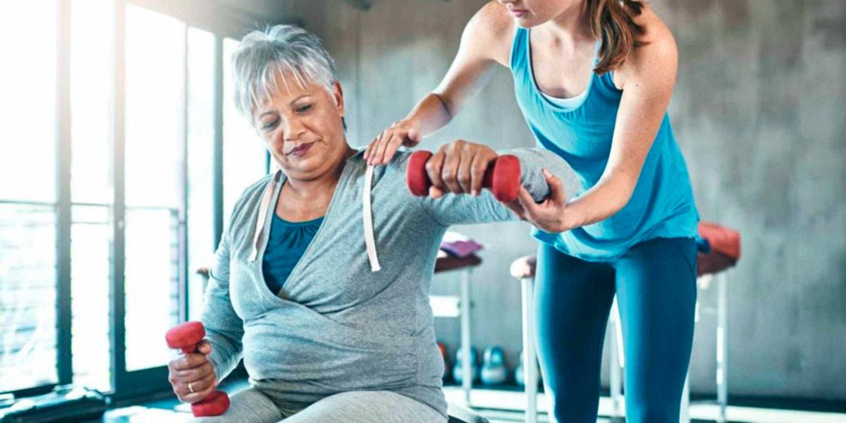 Ejercicio en adultos mayores