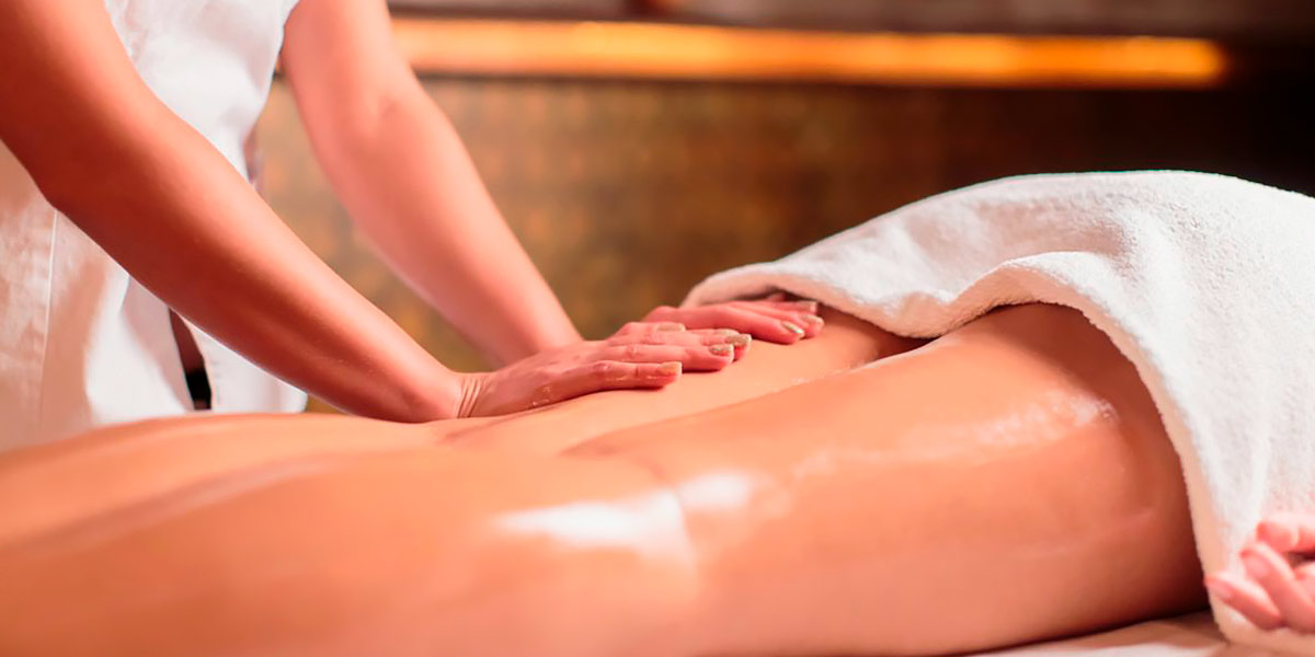 Masaje para evitar la piel de naranja